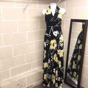 Aqua maxi dress size M